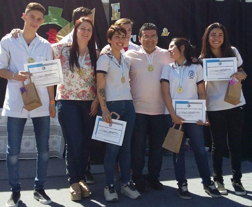 alumnos y profesores ganadores